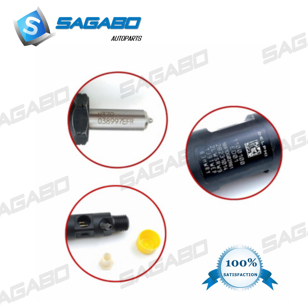 Common Rail Injector ED01 28231014 1100100-ED01 1100100ED01 For Great Wall Wingle H5 H6 GW4D20 2.0T