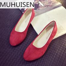 Women Ladies Slip On Flat Sandals Casual Shoes Solid Fashion Loafer Female Frosted Face Pointed Plain Flat Shoes Single Shoes
