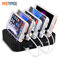 48W universal 5 port multi USB Charger Station dock For Sony HTC phone charger DHL free shipping