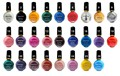 6 Botellas/Set Moda 26 Color Profesional Sello Pintura Polaco Konad Nail Varnish Manicura UV Gel Nail Art decoraciones