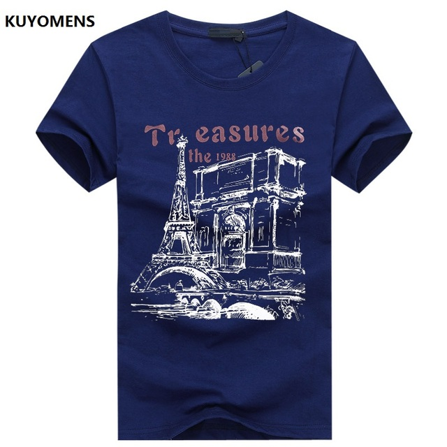 KUYOMENS Men t-shirt Plus Size Tee Shirt Homme Summer Short Sleeve Casual Men's T Shirts Male TShirts Camiseta 3D T shirt Homme 4