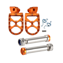 H2CNC Motorcycle Foot Pegs Footrests Footpeg Pedals Pins Set For KTM 990 1050 ADV 1090 1190 ADVENTURE R 990 SUPER MOTO R S T ETC 7 8 22mm motorcycle handlebar girps for ktm 990 1090 1190 adv 1290 super adventure s adventure 1050 accessories