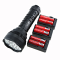 TrustFire 15000 Lumen 12T6 Tactical Hunting Flashlight 12x CREE XM-L T6 Camp LED Torch Lamp + 6x 18650 Battery + 3x EU Charger