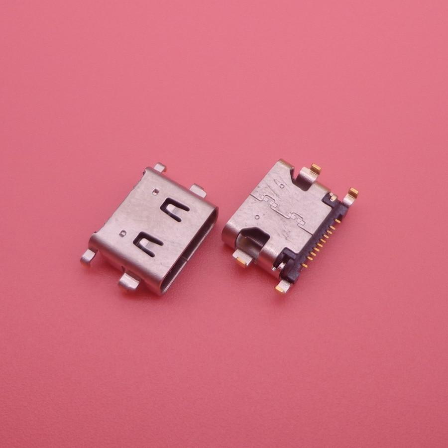 2PCS For Highscreen BAY Micro Mini Usb Jack Socket Connector Charging Port Dock Plug Replacement Repair Parts Female 10pin