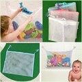 1 unids Alta Calidad Baño Bebé juguete del baño bolsa Bolsa de Malla de Niños jugando en el agua Ventosa Neta Cestas