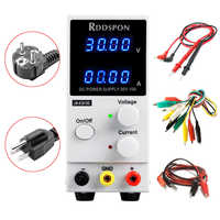New RDDSPON 3010D DC power supply adjustable 4-digit display charging 30V 10A switch laboratory power supply voltage regulator