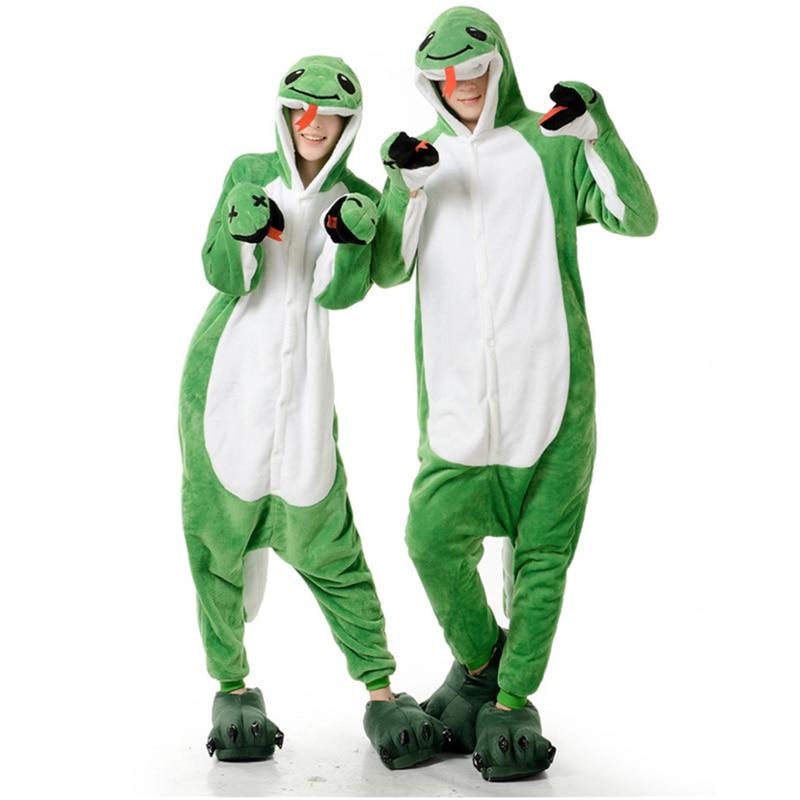 Взрослый Аниме зеленая змея кигуруми костюм комбинезон для женщин и мужчин забавные теплые мягкие животные милые цельные пижамы Домашняя одежда для девочек on Aliexpress.com | Alibaba Group