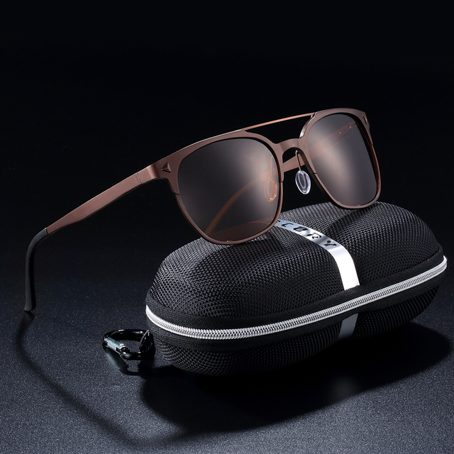 7fe0e04c5 BARCUR Aluminium Magnesium Sunglasses Retro Steampunk Round glasses Men  Polarized Male Sun glasses for Men UV400 Oculos de sol