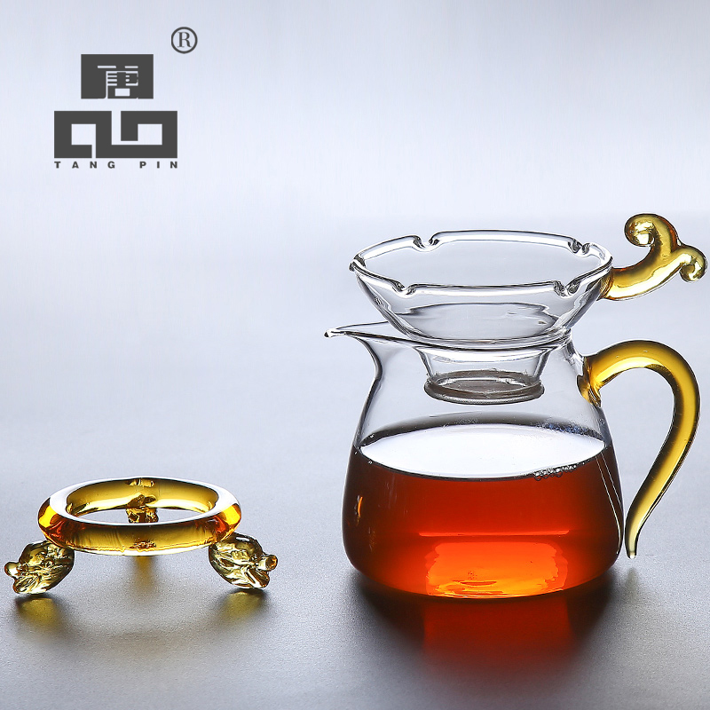 TANGPIN Coffee And Tea Accessories Glass Tea Pitcher Tea Strainers Tools
