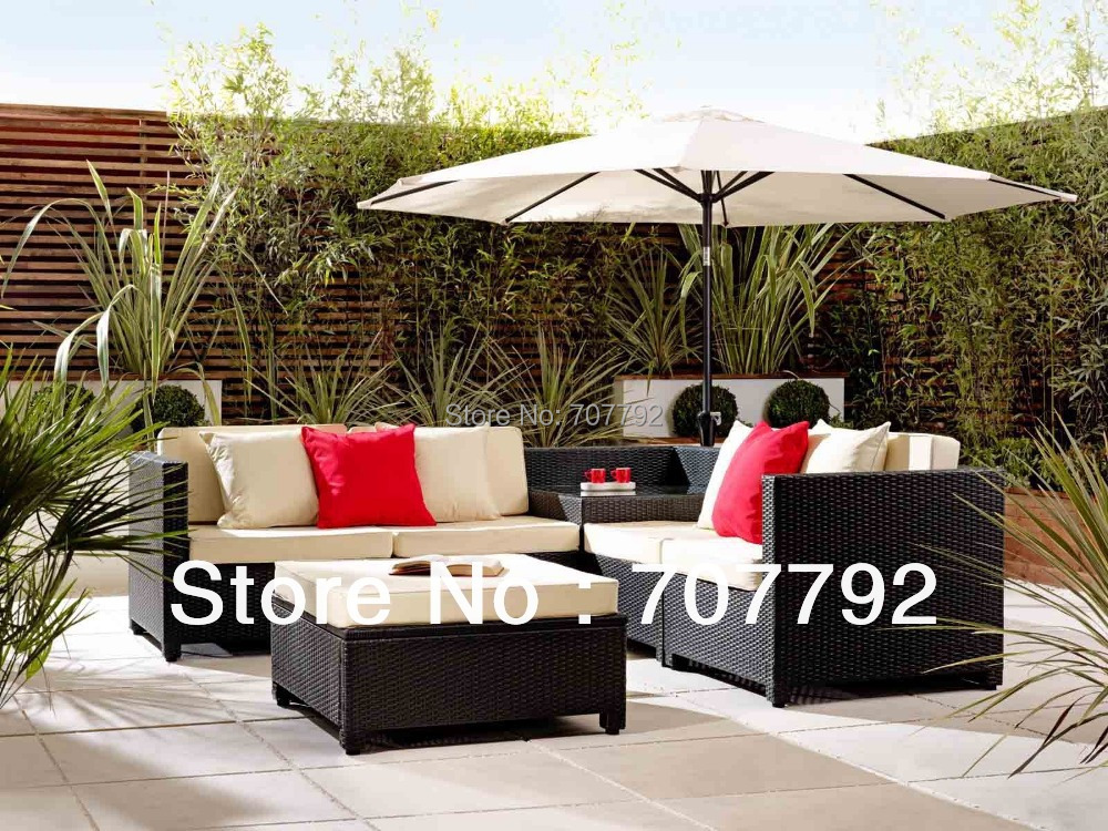 2017 Exclusive Comfort 4 Seater Outdoor Wicker Patio Furniture Sofa Set. Comfortable Garden Furniture Promotion Shop for Promotional