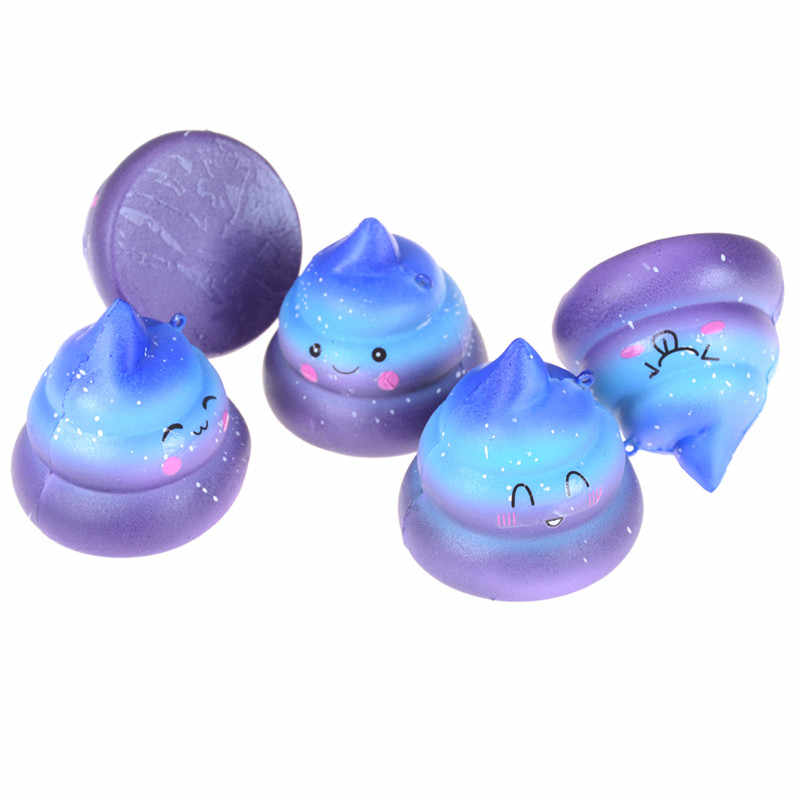 1pcs Squeeze Toy Funny Crazy Scented Charm Antistress Slow Rising Simulation Shit Dung Slime Toys Gadget Bag Accessories