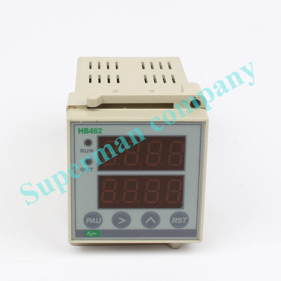 цена на ZN48 HB482 Digital Time Relay Counter AC 220V switch digital measuring instrument
