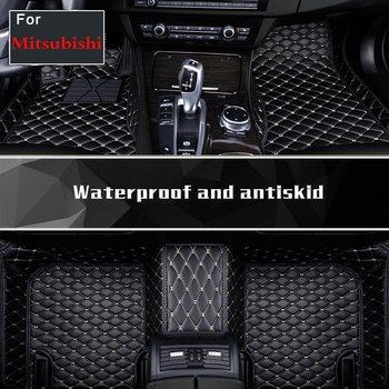 Sticker Auto Sticker Foot Mats Floor Pads Faux Leather For Mitsubishi Galant Lancer Lancerex Lancer Fortis Zinger
