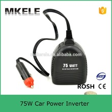 High quality Modified Sine Wave Car Power Inverter 12vdc To 120vac 75W