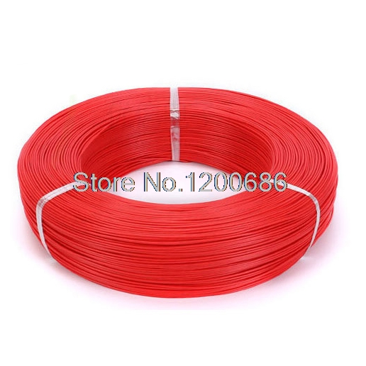 Ul 1007 18AWG красный 10 метров/лот супер гибкий 18AWG ПВХ изолированный Электрический кабель, светодиодный кабель