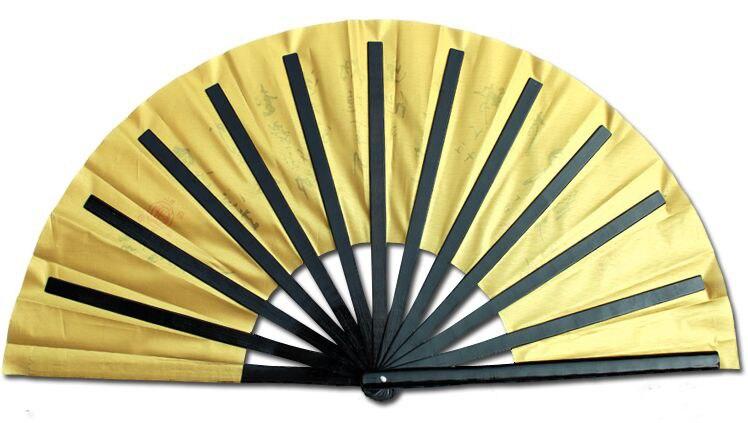 Premium Bamboo Martial Arts Gong Fu Fan 3