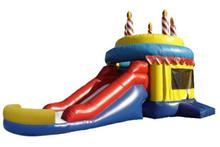 2017 customized inflatable slide bouncer combo/inflatable combo for sale