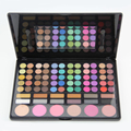 78 Colors Pro Eyeshadow Palette Fashion Makeup Powder Cosmetic Brush Kit Box With Mirror Women Beauty Tools Set A2