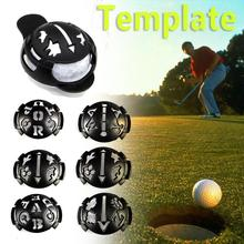 MARK GOLF BALL SZABLON MARKER TEMPLATE LINE KIT PEN (CZARNY) tanie tanio Golf scribe Cages Mats Puppets