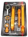 Precio de fábrica 12 unids Coche tapicería Automotriz herramientas de desmontaje de audio del coche/gps (Instalación Removal Tool Kit Reinstale)