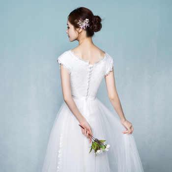 DongCMY 2019 New Princess Junior Bridesmaid Dresses White Color Short Elegant Vestido Gowns