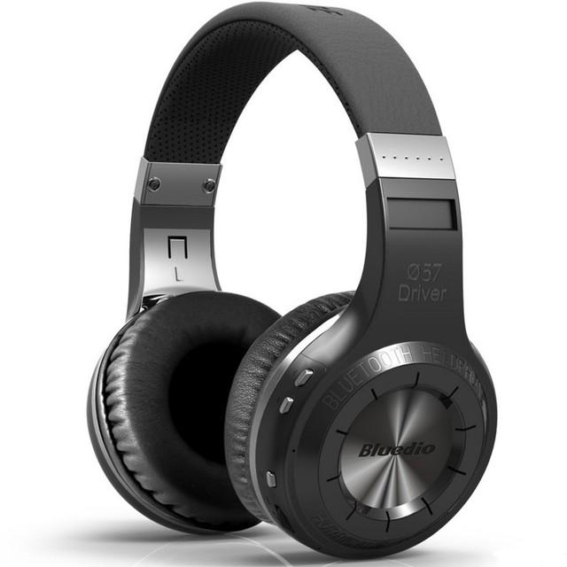 Original bluedio ht inalámbrico bluetooth versión 4.1 wireless headset marca auriculares estéreo con micrófono de manos libres de llamadas