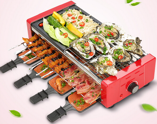 Electric BBQ Household Indoor Outdoor Electric Grill Electric Ovens ...