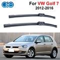 Oge par parabrisas limpiaparabrisas para vw golf 7 2012 en adelante, fit parabrisas limpiaparabrisas brazo de goma de silicona, auto piezas del coche accesorios