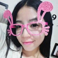 Women Cute Rabbit Shape Flexible Adults Sunglasses UV400 Eyewear Shades Infant Polarized Girls Kid Children Safety Sunglasses