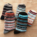 Mens inverno Mulheres Meias de Lã Grossa Quente Sokken Mistura de Caxemira Meias Vestido Casual Unisex Calcetines Hombre w16