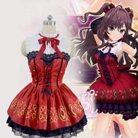 anime THE IDOLM@STER cosplay Shibuya Rin Costumes Halloween Party Clothing school uniform cloth kawai sweet dress