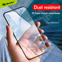 For iPhone X Tempered Glass Screen Protector Benks Accessory Glass 2 By Corning Full Cover Protective Anti Dust For iPhone X