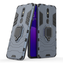 For OPPO F11 Pro Case Magnetic Finger Ring Kickstand Hard Fundas Phone Case For OPPO F11 Pro Cover For OPPO F11 Pro Case oppo f11 case luxury robot armor rubber silicone slim hard pc phone case for oppo f11 back cover for oppo f11 kickstand fundas