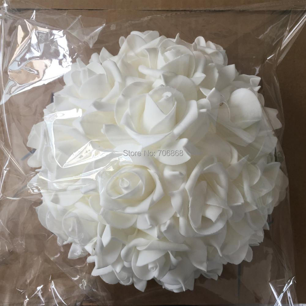 11\'\' 28cm Half Ball Artificial Rose Kissing Flower Wedding Flower ...
