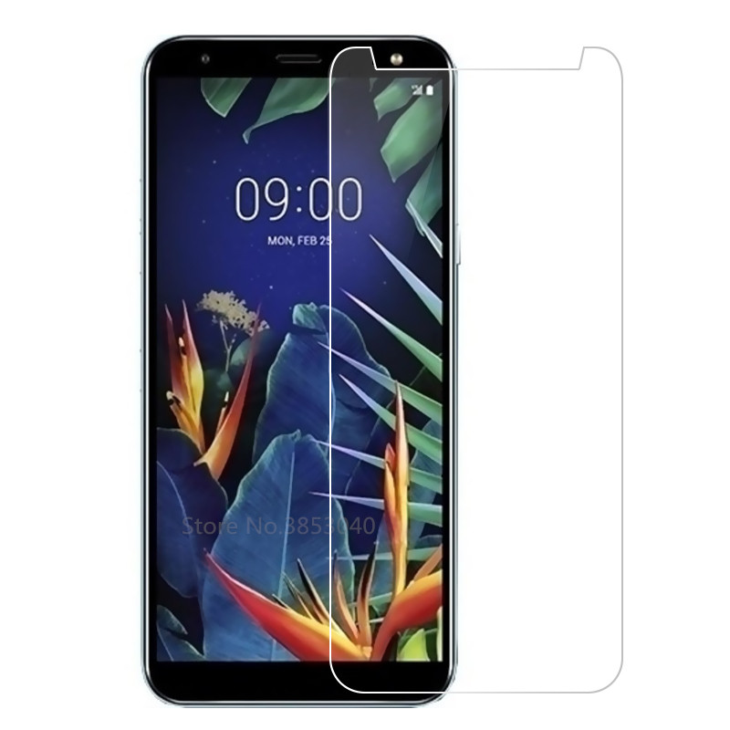 for LG K <font><b>40</b></font> Tempered Glass <font><b>100</b></font>% Good Quality Premium 9H Screen Protector Protective Glass Film Accessories for LG K40 image