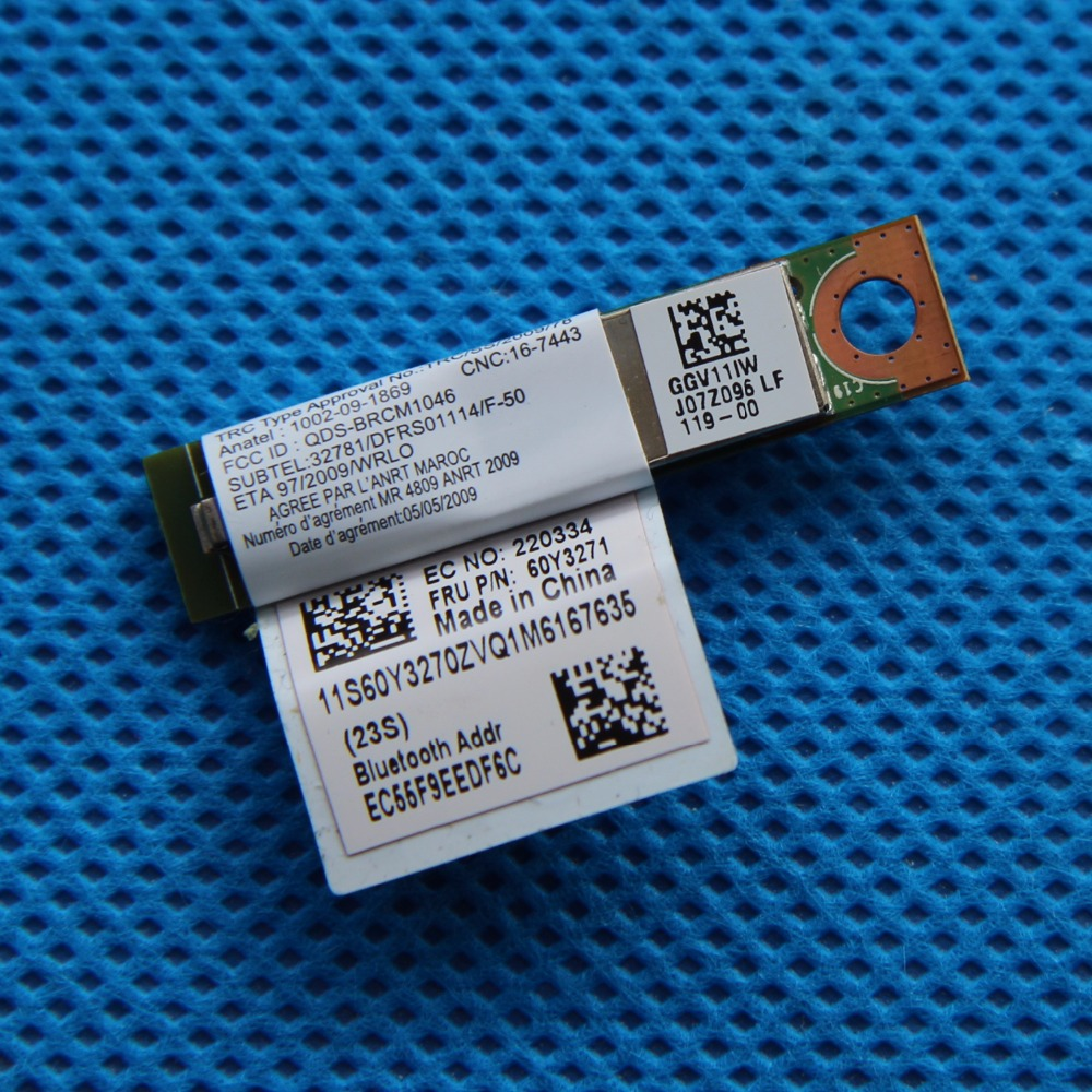 2 PCS 3.0 Bluetooth modul za Lenovo ThinkPad T410 T420 X220 T510 T520 E420 E520 Bluetooth Board kartica 60Y3199