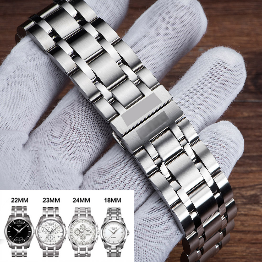 Watch-Band 1853-T035 Stainless-Steel Tissot 23mm 22mm 18mm For /Only/Women/men's
