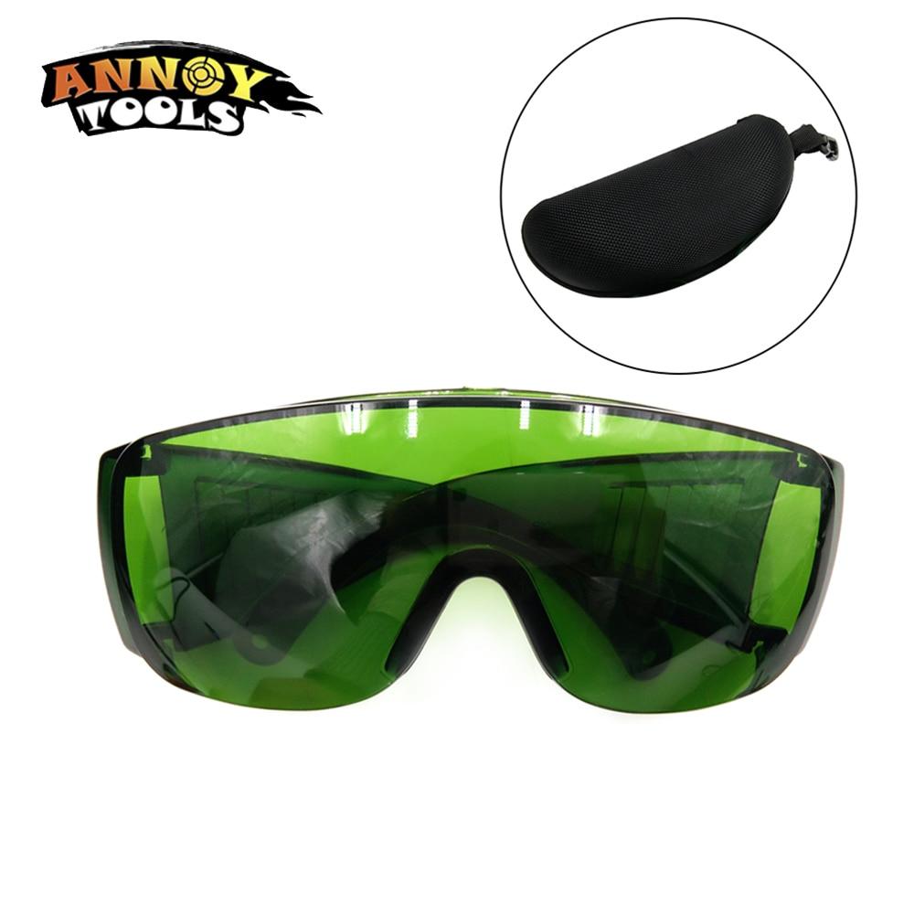 Alta Qualidade Óculos de Proteção Óculos de Segurança Do Laser 190nm a  540nm Verdes Do Laser 7310c6a799