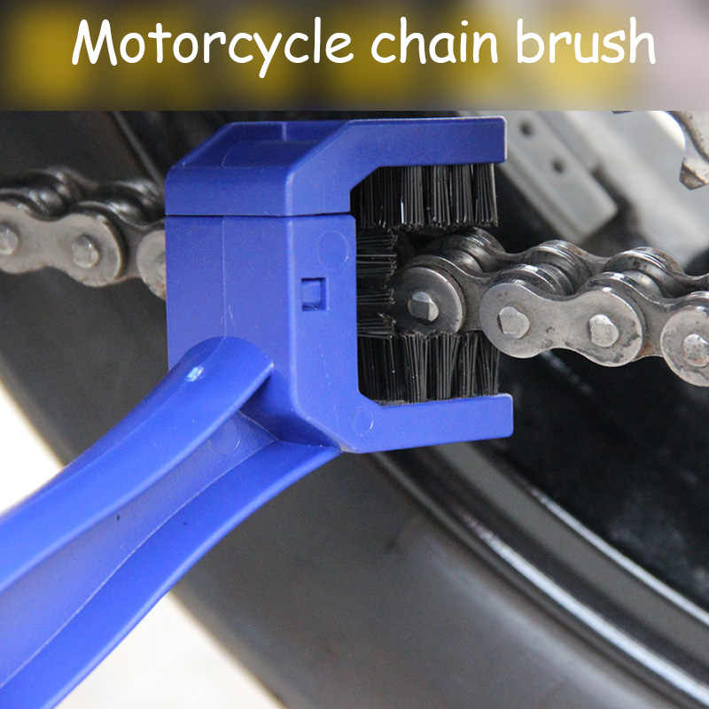 Щетка для чистки цепи мотоцикла Kawasaki VULCAN S 650 cc Tourer ZZR600 W800 ZZR ZX10R ZX7R ZXR 400 H2 636