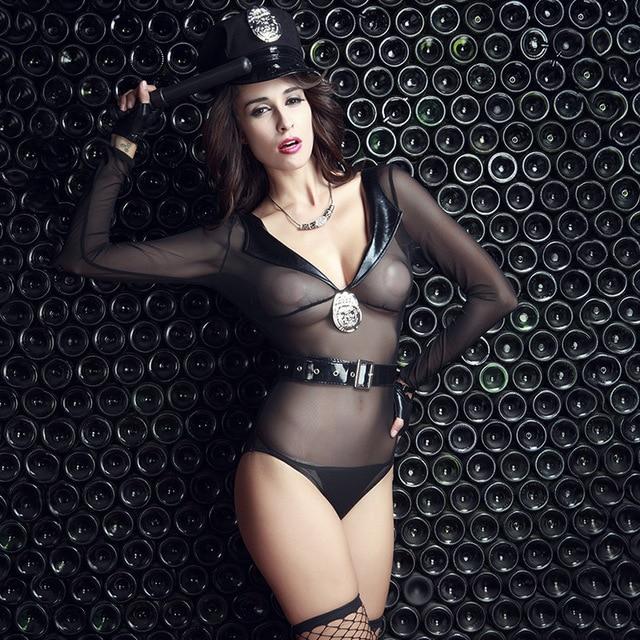 e9eba55895490 8 قطع مثير الشرطية زي السيدات الشرطة تقمص الأدوار هالوين ازياء مثير الزي  امرأة تأثيري المثيرة