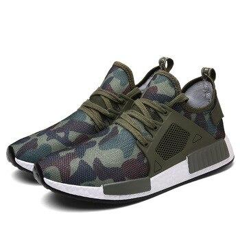 Для Мужчин's кроссовки, камуфляж вентилируемые Для мужчин кроссовки, удобные и дышащие Спорт на открытом воздухе, большой код 48