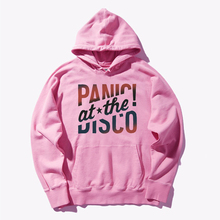 Hoodie Panic At Disco Colorful letter print Streetwear men/women Hooded Pullover Warm 2019