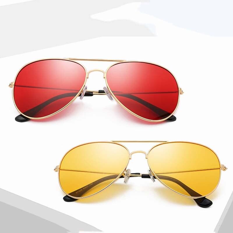 Hot Sale Aviation Sunglasses Women Brand Designer Pilot Sunglass Women Female Men Sun Glasses Women Red Mirror Sunglass