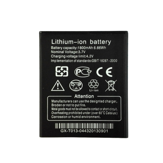 Original Battery for THL W100 1800mAh Backup Li-ion Battery for THL W100 W100S Smartphone Replacement