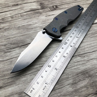 BJL Tactical Folding Knives M390 Blade Titanium Handle Ball Bearing Camping Knife Outdoor Survival OEM Tools Knife ZT 0392