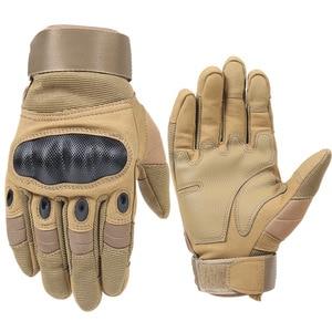 Image 2 - 1 זוג אופנועים כפפות לנשימה יוניסקס מלא כפפת אצבע אופנתי חיצוני מרוצי ספורט כפפת מוטוקרוס מגן כפפות