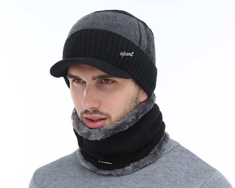de99792abf6 AETRUE Winter Beanie with Lid and Scarf – The Shop Lord
