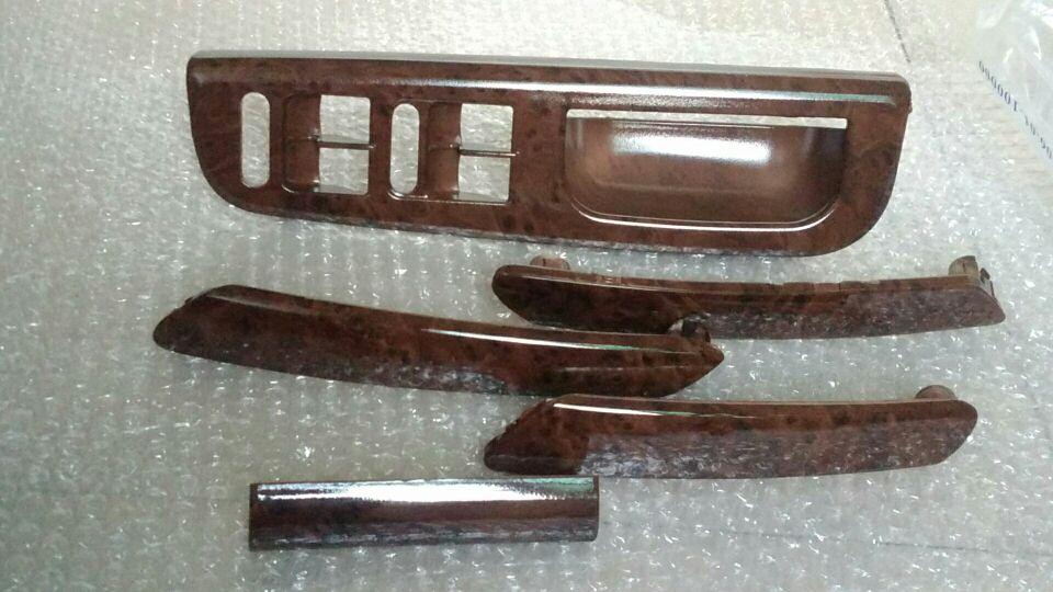 CHESHUNZAI 5 шт. внутри дверные ручки поручни ручки встряхнуть handshandle декоративное покрытие из красного дерева для Vw passat B5