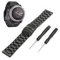 New Metal Stainless Steel Replacement Watch Band Wrist Support Wristband Watch Strap Belt For Garmin Fenix
