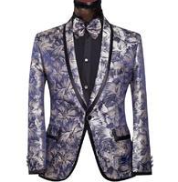Brand Fashion Men Suits Jacket Groom Male Tuxedos Wedding Blazer Slim Fit Man Suit Pants Prom Sequins Red/Silver/Gold/Black/Blue